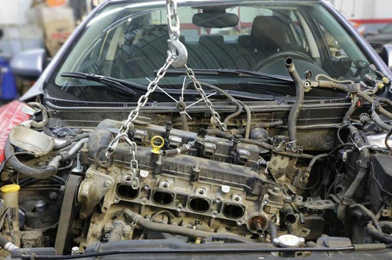Ремонт двигателя. Двигатель снять-установить.