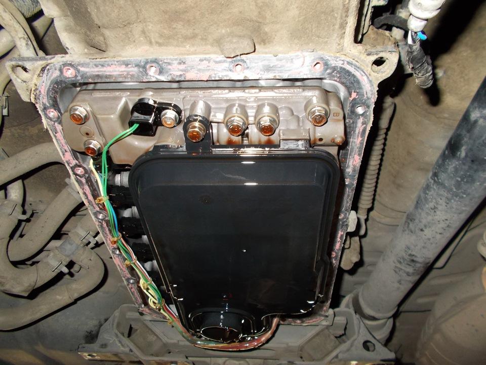Замена фильра АКПП Mitsubishi Pajero Sport, Pajero Wagon, L200