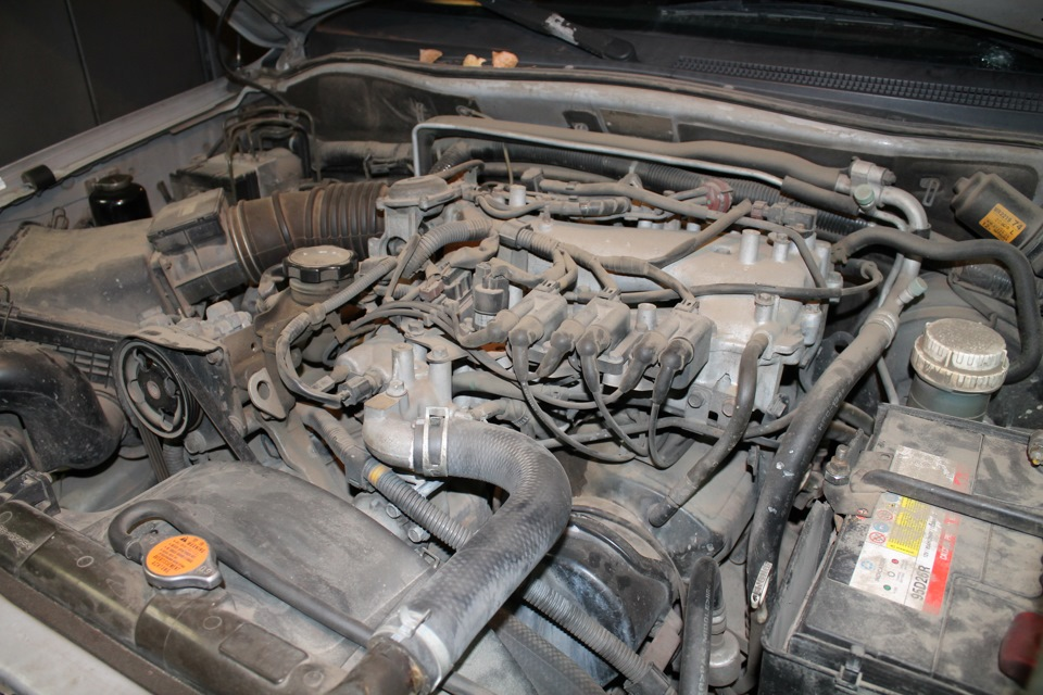 Чистка впускного коллектора Mitsubishi Pajero Sport