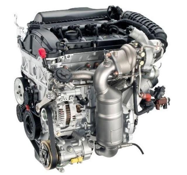 Двигатели серии EW 1.6 THP